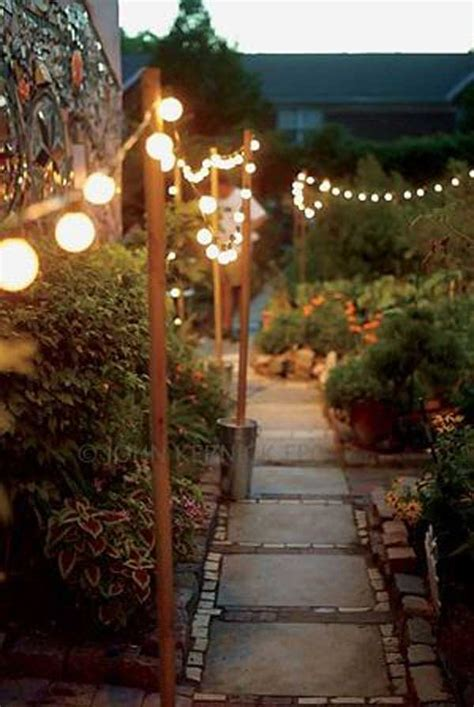 26 Breathtaking Yard And Patio String Lighting Ideas Will How To String Lights In Backyard