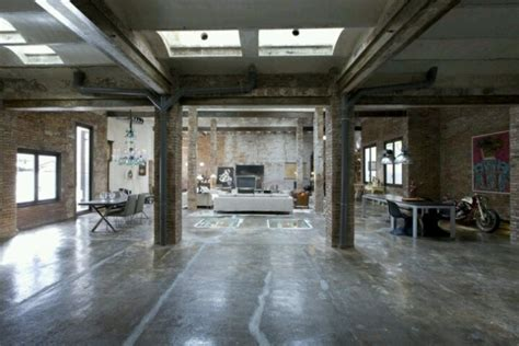loft industrial industrial loft apartment inspiring interiors pinterest