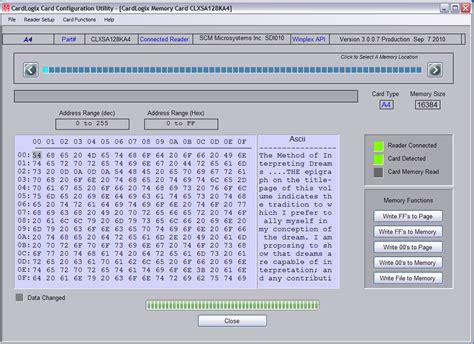 card program smart toolz 174 mifare and i 178 c memory smart card development