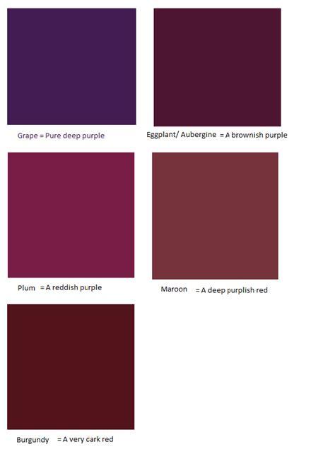 Pusple Maroon winter trend forecast aubergine and burgundy shopgirl