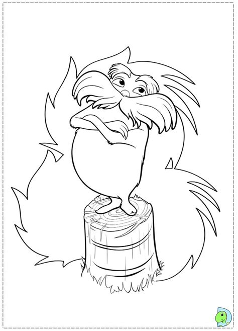 lorax tree coloring page truffula tree coloring page printable coloring pages