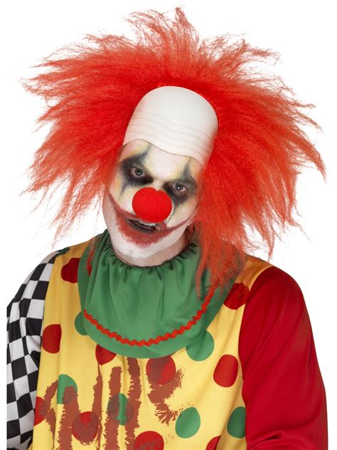halloween fancy dress costumes scary masks and wigs adult deluxe clown wig 44898 fancy dress ball