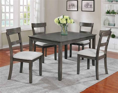 Henderson Grey Dining Set Freight
