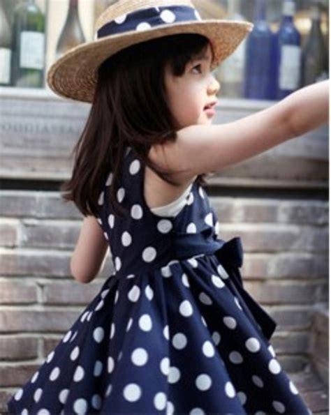 Tabur Polka polka dot chiffon dress blue lazada malaysia