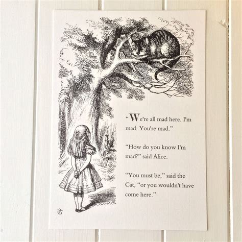 printable pictures alice in wonderland alice in wonderland print by literary emporium