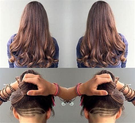 hairstyles for women with thick hair with shaved sided 60 most beneficial haircuts for thick hair of any length