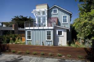 Area Rugs Santa Cruz Breakers Beach House Beach Style Exterior San
