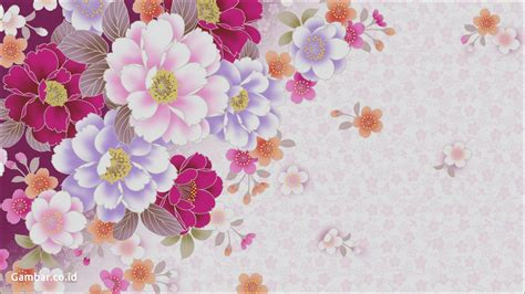 gambar bunga vektor pickini