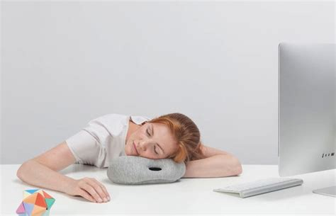 Nap Anywhere Pillow by Nap Anywhere With Ostrich Pillow Mini The Hustle