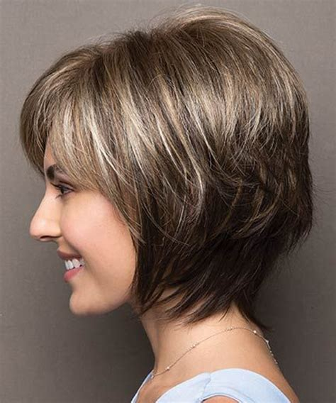 plus size bob haircut plus size cute short layered haircuts 2017 2018 for