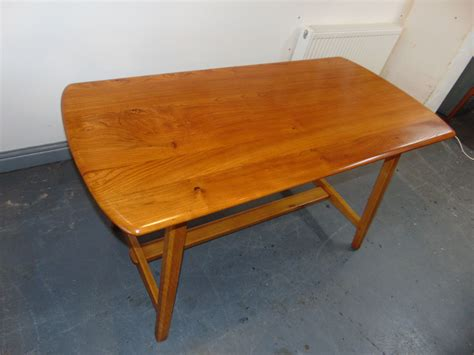 1950 s vintage ercol trestle dining table kingdom