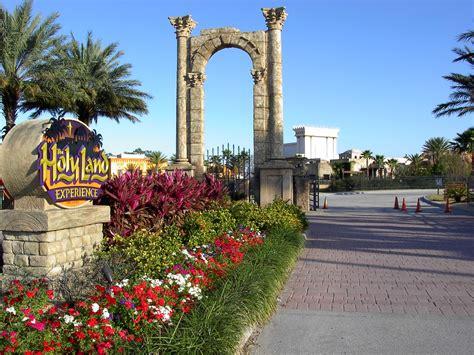 theme park orlando the holy land theme park
