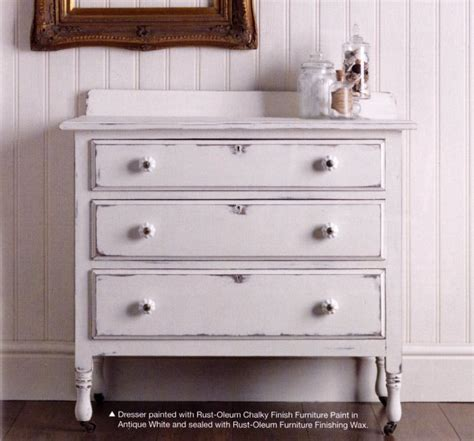 rust oleum antique white chalky finish furniture paint designer paint store