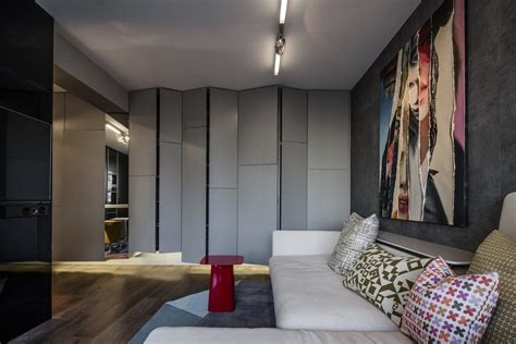 industrial apartment design with dark interior style industrial apartment design with dark interior style