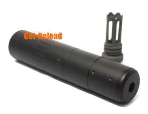 Silencer Qd Scar Element M4 2000 Qd Silencer W Scar Flash Hider Black 14mm