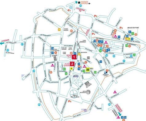 padua map map of padua