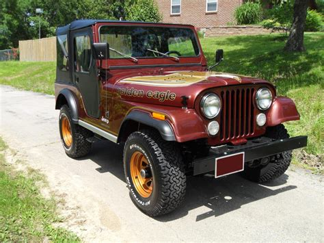 jeep cj golden 1979 jeep cj 5 golden eagle 108973