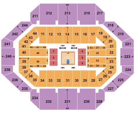 rupp arena concert seating rupp arena tickets and rupp arena seating chart buy rupp