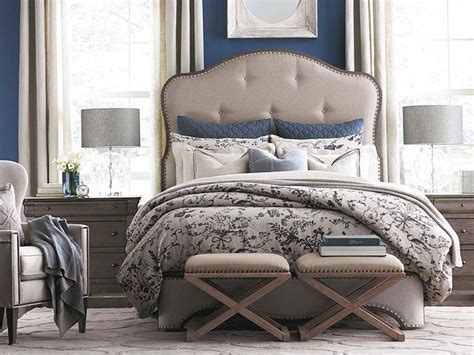 provence bedroom furniture provence upholstered bedroom by bassett furniture