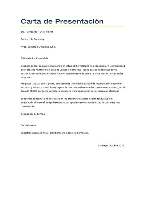 Modelos Carta Presentacion Curriculum Email 25 best ideas about carta de presentacion laboral on