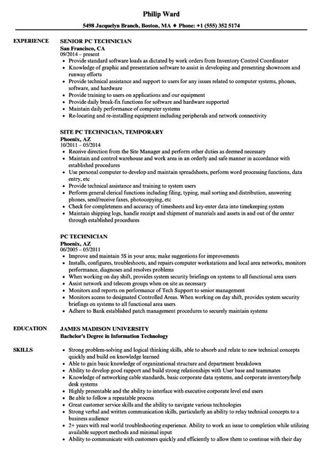 Endoscopy Resume Objective computer repair technician resume 1 38 best summary
