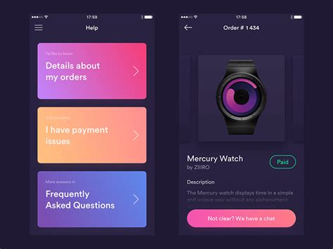 10 best mobile ux ui design pattern libraries for your 10 best ui ux design of february 2017 inspire design