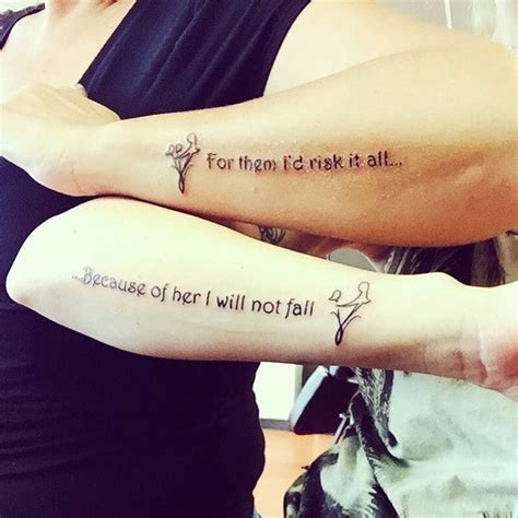 tattoo quotes about a mother s love 20 adorable mother daughter tattoos pt 2 thethings