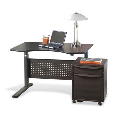 standing desk plans lowes shop jesper office adjustable standing desk at