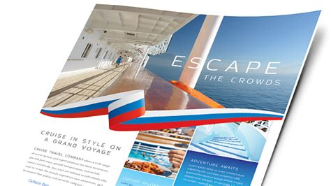 microsoft word travel brochure template travel tourism brochures flyers word publisher