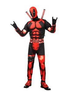 deadpool costume halloween city deadpool costumes amp masks halloweencostumes com