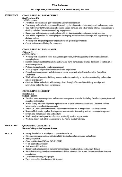 Recruitment Consultant Sle Resume by Great Resume Consultant San Francisco Gallery Resume Ideas Namanasa