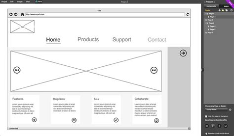 free wireframe tool 9 free to use wireframing tools interaction design