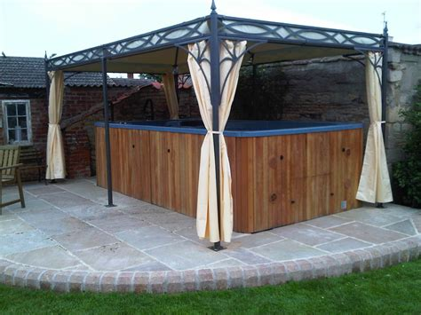 metal pergola with retractable canopy nucleus home
