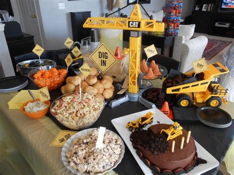 construction theme decorations construction birthday ideas
