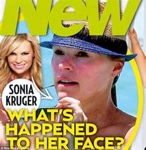 sonia kruger hits back at new idea front cover daily mail online