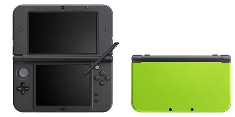new 3ds xl colors nintendo announces lime x black and pink x white new