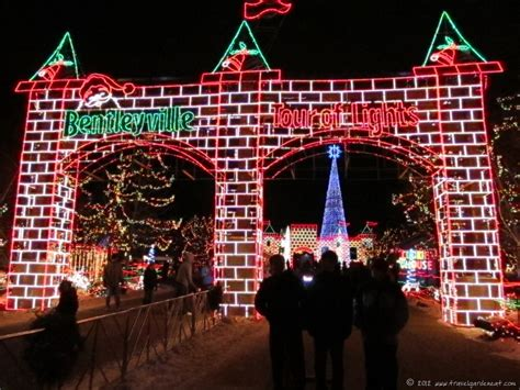 holiday lights tour mn bentleyville magical tour of lights travel garden eat