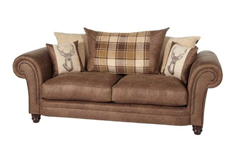 Abbey 3 Seater Sofa Scatter Back Scs