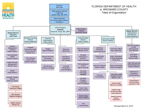 florida state government organizational chart doh broward organizational chart florida department of