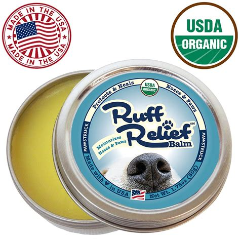 paw pad coming save on organic paw balm to help with chapped pads and noses