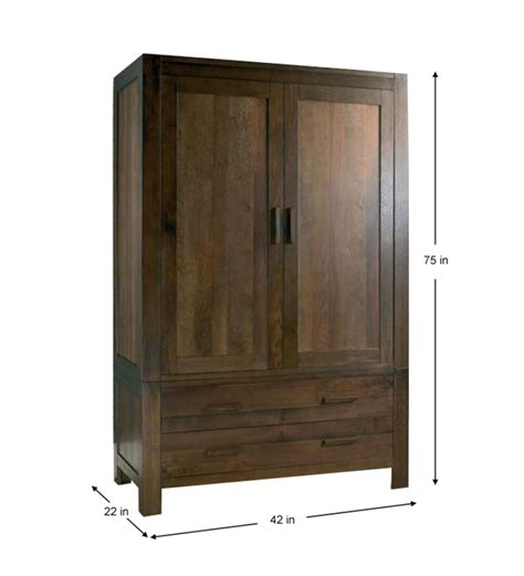 Wooden Furniture Wardrobe Cayenne Wooden Wardrobe By Mudra Wardrobes