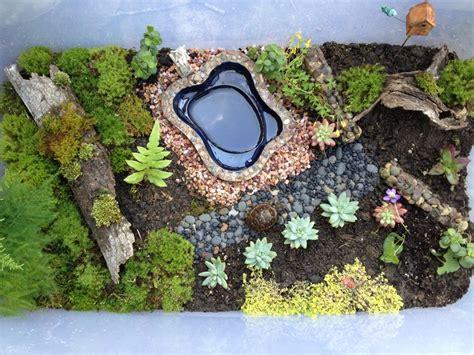 Garden Turtle by Turtle Box Miniature Gardening Tuuurtle