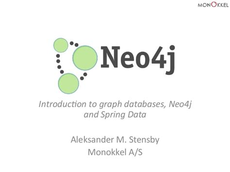 introduction to spring data ppt download introduction to graph databases neo4j and spring data