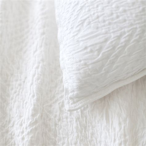 White Coverlet kerala matelasse white coverlet by pine cone hill