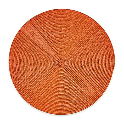 round to ours setting 1849499594 buy indoor outdoor 15 inch round placemat in spice from bed bath beyond