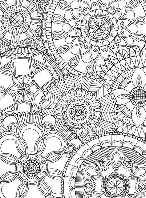 coloring puzzles mandala collage jigsaw puzzle puzzlewarehouse