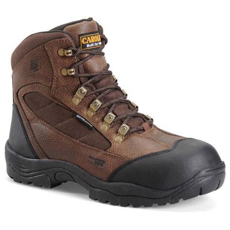 composite toe hiking boots s carolina 174 6 quot 4x4 waterproof composite toe hiking