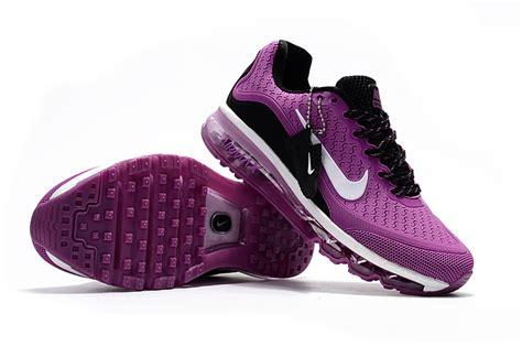 comfortable cross training shoes comfortable nike air max 2017 5 kpu purple black white