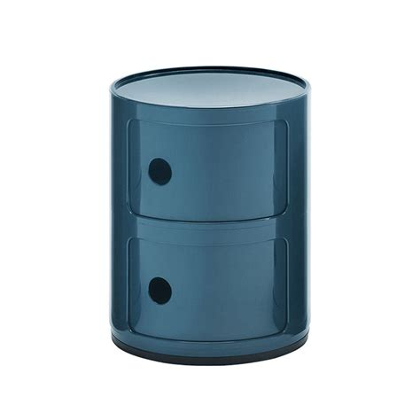Table De Nuit Kartell by Kartell Table De Chevet Componibili 224 Deux 233 L 233 Ments Bleu