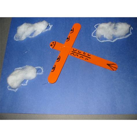 airplane crafts for air transportation activities preschool www